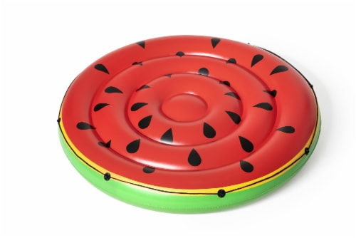 Bestway H2O Go! Inflatable Watermelon Island Pool Lounge Perspective: front