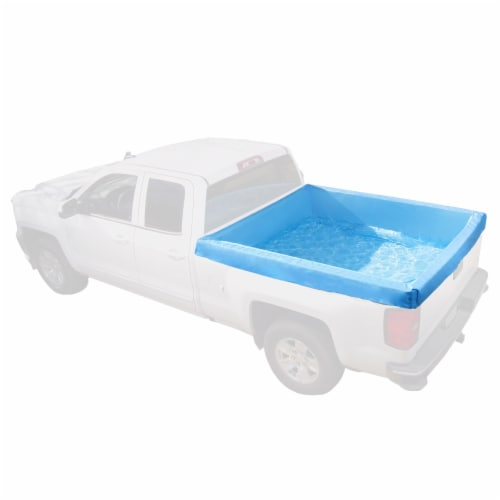 Bestway 54283E Portable Standard 5.5 Foot Payload Pickup Truck Bed Swimming Pool Perspective: front