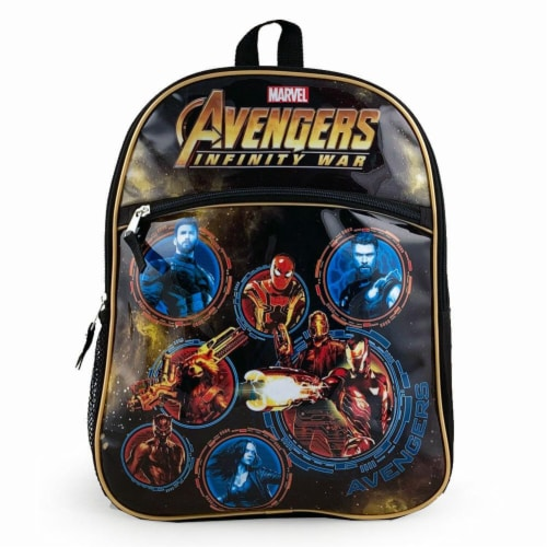 Avengers Infinity War Backpack Perspective: front
