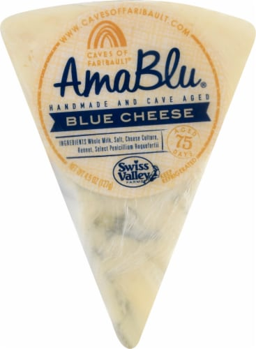 Amablue Blue Cheese Wedge Perspective: front