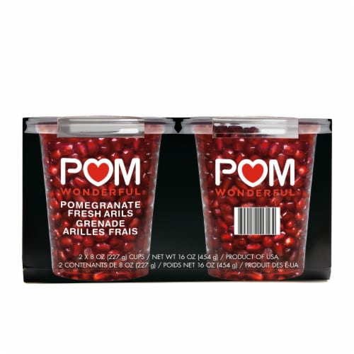 POM Wonderful Pomegranates Snack Packs Perspective: front