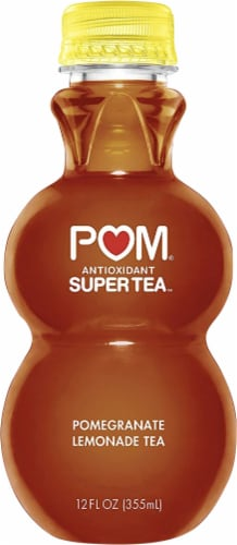 POM Wonderful Pomegranate Lemonade Tea Perspective: front