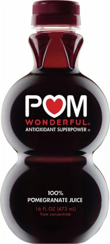 POM Wonderful Pomegranate Juice Perspective: front