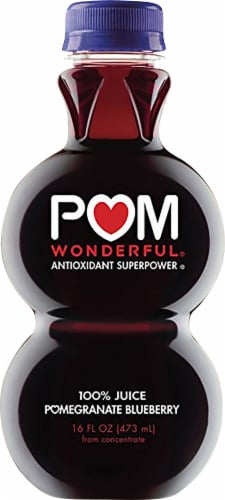 POM Wonderful Pomegranate Blueberry Juice Perspective: front