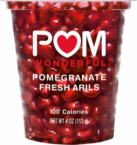 POM Wonderful Pom Poms Pomegranate Fresh Arils Cup Perspective: front
