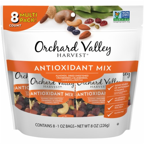 Orchard Valley Harvest Antioxidant Mix Perspective: front