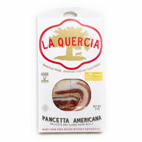 La Quercia Pancetta Americana Perspective: front