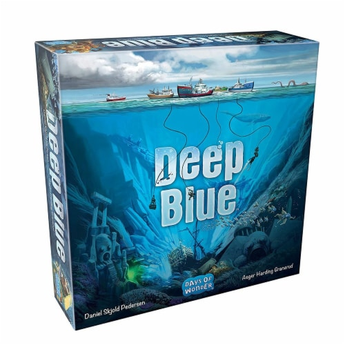 Days of Wonder DOW8901 Deep Blue Board Game Perspective: front