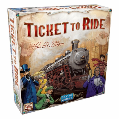 Days of Wonder Ticket to Ride Board Game Perspective: front