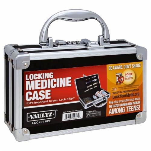 Vaultz Locking Medicine Case Perspective: front