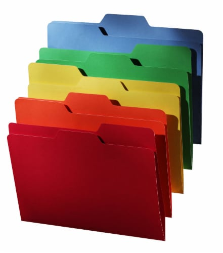 Find It All Tab Interior Folders - Assorted Perspective: front