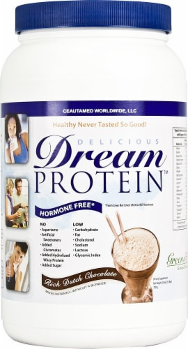 Greens First Delicious Dream Protein - Rich Dutch Chocolate Perspective: front