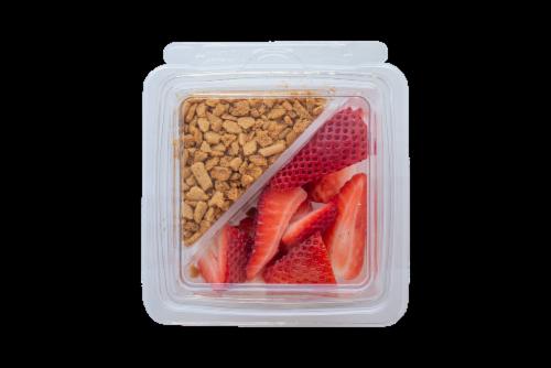 Fresh Kitchen Strawberry Cheesecake Parfait Perspective: front