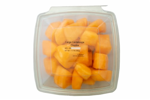 Fresh Kitchen Cantaloupe Chunks Perspective: front