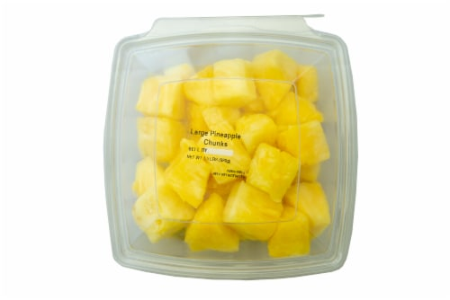 Fresh Kitchen Pineapple Chunks Perspective: front