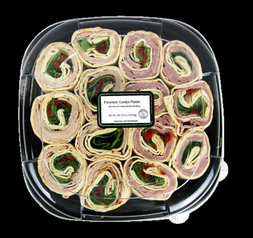 Fresh Kitchen Pinwheel Combo Platter Perspective: front