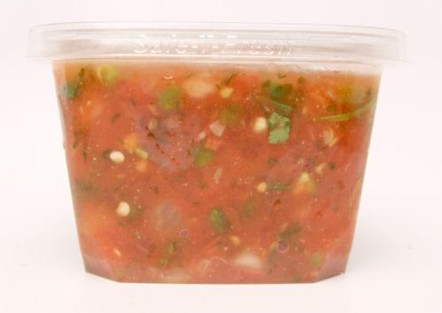 Fresh Kitchen Spicy Salsa Perspective: front