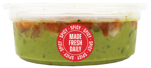 Fresh Kitchen Small Spicy Guacamole Perspective: front