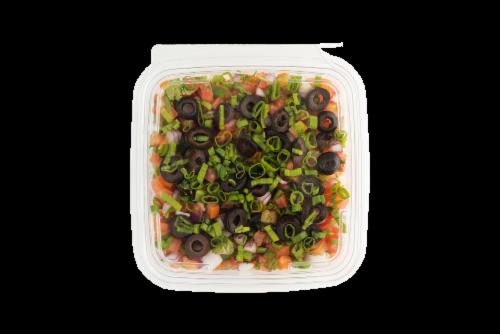 Fresh Kitchen Fiesta Bean Dip Tray Perspective: front