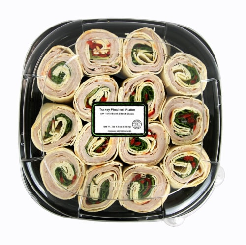 Turkey Pinwheel Platter Perspective: front