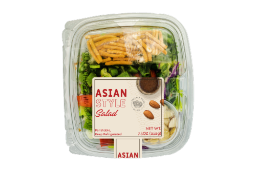 Deli Asian Style Salad Perspective: front