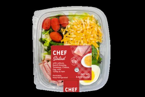 Deli Chef Salad Perspective: front