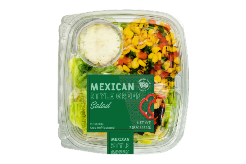 Deli Mexican Style Green Salad Perspective: front