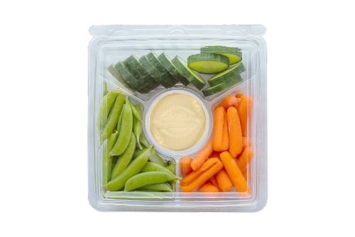 Fresh Kitchen Hummus Snacking Meal Perspective: front