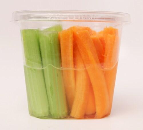 Garden Highway Organic Celery & Carrot Sticks Perspective: front