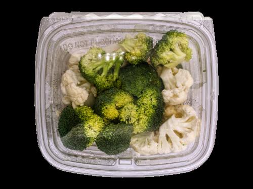 Organic Broccoli & Cauliflower Perspective: front