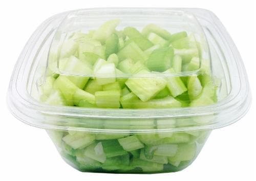 Diced Celery Perspective: front
