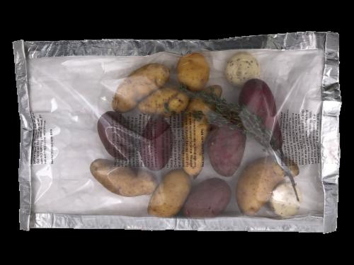 Potato Medley Grilling Bag Perspective: front