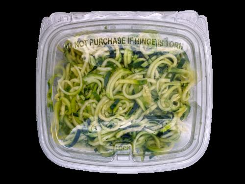 Fresh Kitchen Zucchini Spirals Perspective: front