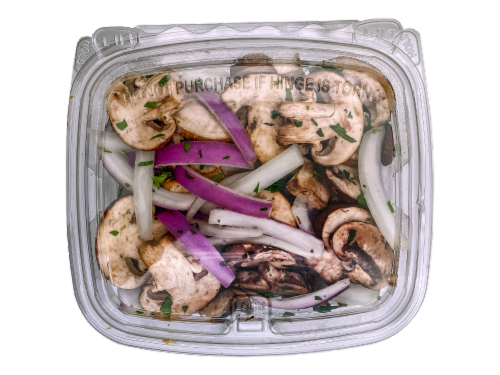 Garlic Herb Steak Topper Perspective: front