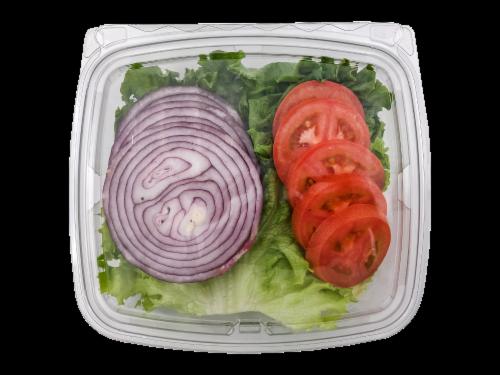 Hamburger Fixin's Perspective: front