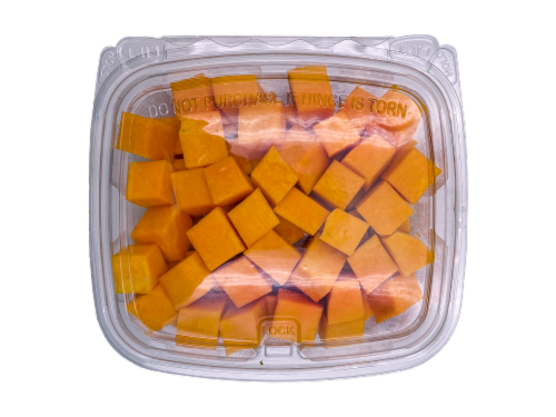 Diced Butternut Squash Perspective: front