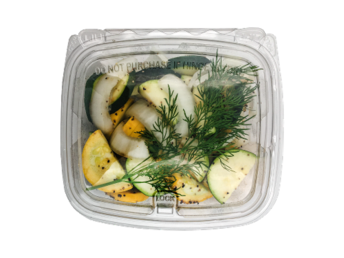 Seasoned Squash Onion & Dill Perspective: front