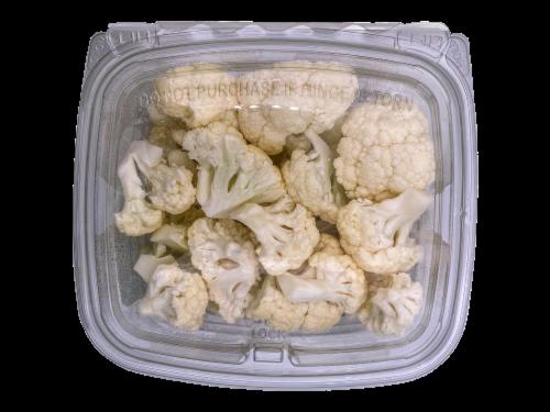 Organic Cauliflower Perspective: front
