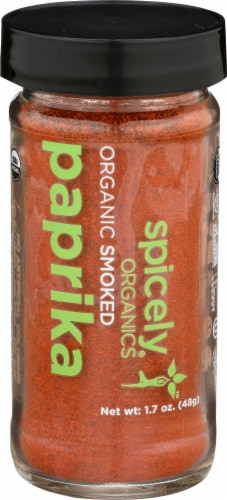 Spicely ORganics Smoked Paprika Perspective: front