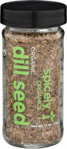 Spicely Organics Dill Seed Perspective: front