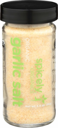 Spicely Organic Garlic Salt Perspective: front