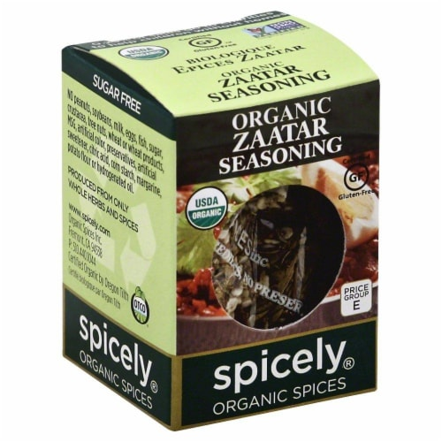 Spicely Zaatar Seasoning Perspective: front