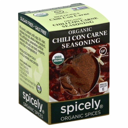 Spicely Chili Con Carne Seasoning Perspective: front