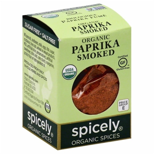 Spicely Organic Smoked Paprika Perspective: front
