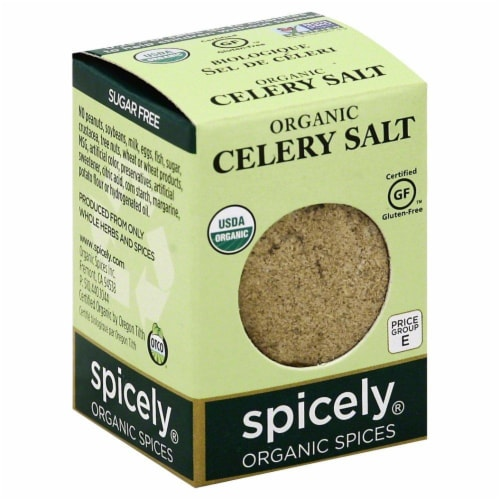 Spicely Organic Celery Salt Perspective: front