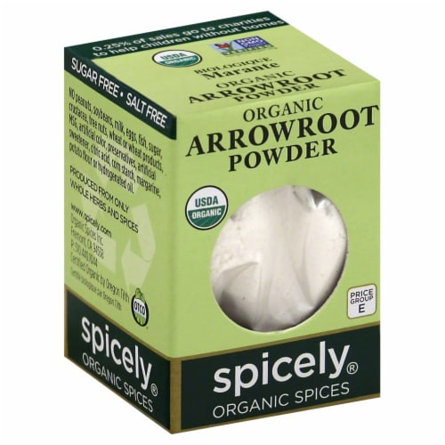 Spicely Organic Arrowroot Powder Perspective: front