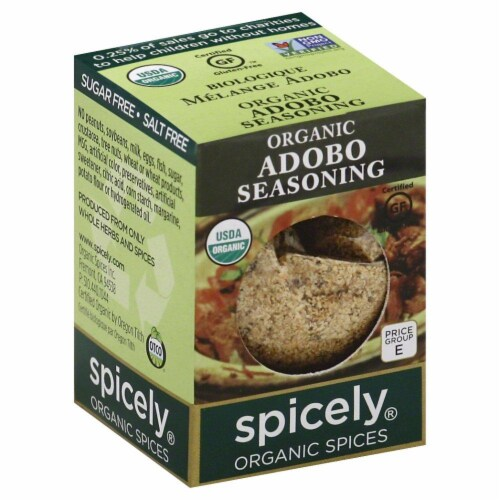 Spicely Organic Adobo Seasoning Perspective: front