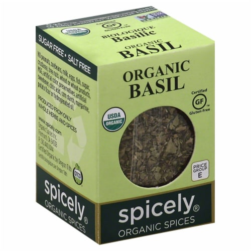 Spicely Organic Basil Perspective: front