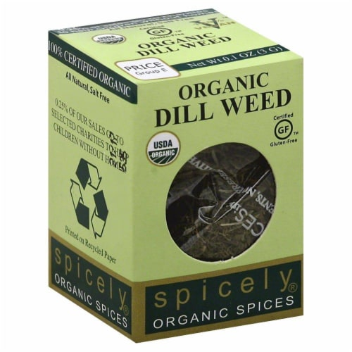 Spicely Organic Dill Weed Perspective: front