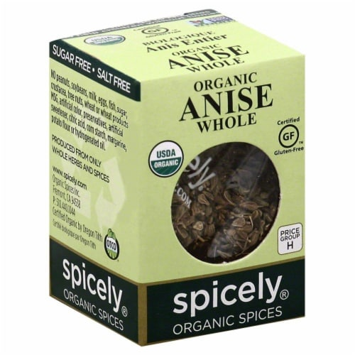 Spicely Organic Whole Anise Perspective: front